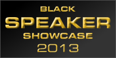 Black Speaker Showcase