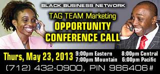 TAG TEAM Opportunity Conference Call