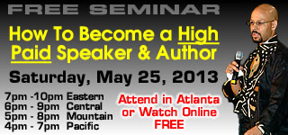 Free Speaker/Author Traning Workshop