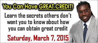 You Can Have GREAT CREDIT