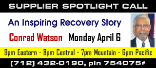SPOTLIGHT CALL: Recovering From Drug Addiction with Conrad Watson