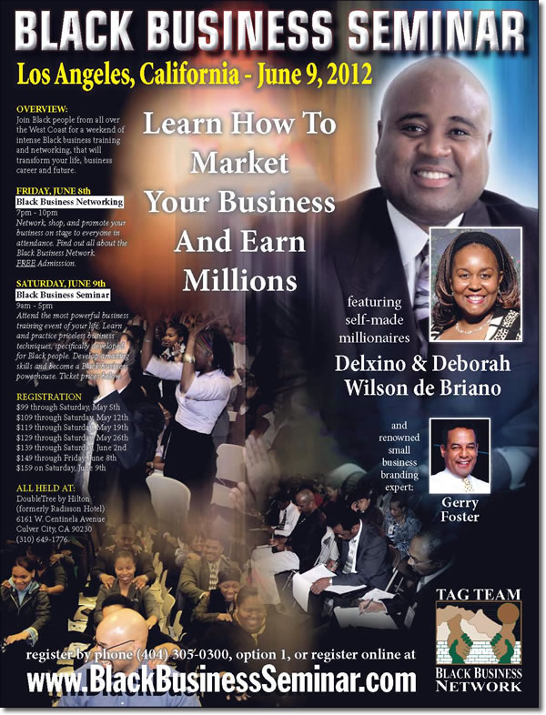 Black Business Seminar - April 20-22, 2012