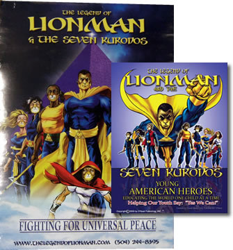 Lionman Graphic Novel & Poster