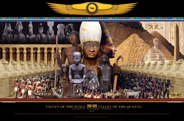 Valley of the Kings & Queens Poster