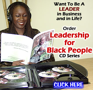 LEADERSHIP for Black People CD Set